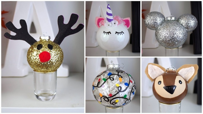 7 CHEAP EASY DIY CHRISTMAS ORNAMENTS | PINTEREST INSPIRED