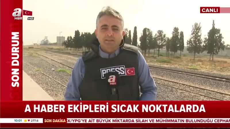 Son Dakika YPG, Anlaşmayı İhlal Etti 1 Şehidimiz Var! A Haber.mp4
