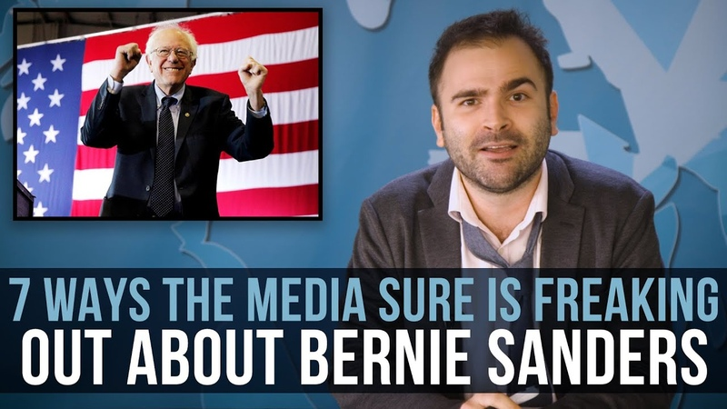 7 Ways The Media Sure Is Freaking Out About Bernie Sanders SOME MORE NEWS
