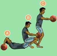 Используешь медбол в своей программе тренировок? Если нет, то обязательно попробуй! Вот 3 упражнения