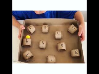 Игрушка-развивашка на координацию и счет