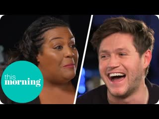 When alison hammond met niall horan ¦ this morning [rus sub]