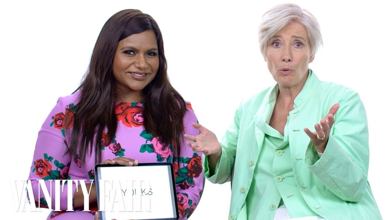 Emma Thompson and Mindy Kaling Teach You Posh British Slang Vanity Fair