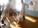 Поздравление с 8 марта в исполнении учащихся 10 класса танец маленьких лебедей