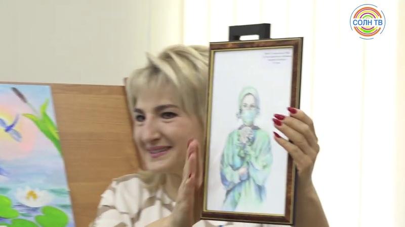 Рисунки школьников Солнечногорска украсят подстанции скорой помощи в Подмосковье