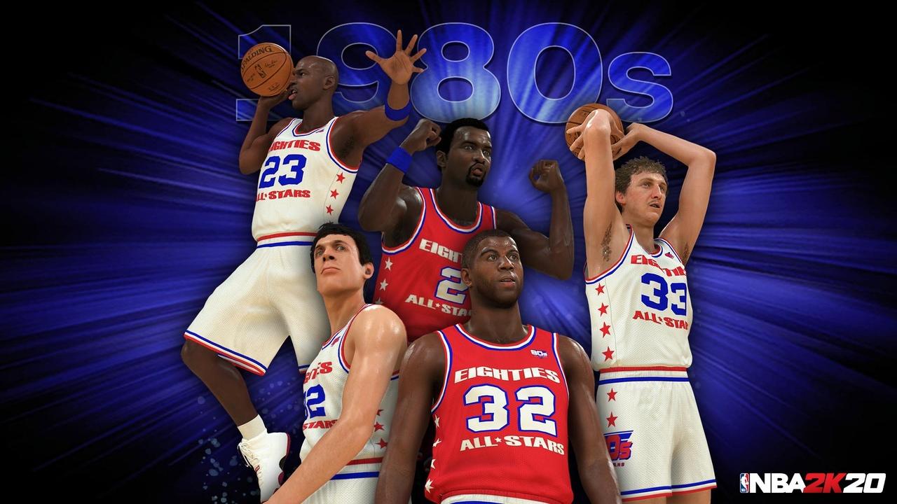 Игра NBA 2K20 представила символические пятерки десятилетий