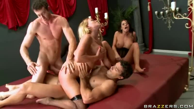 Brazzers Live 6 part 3 ( Porn Anal Sex Fuck Ass lick Milf Mom POV Squirt Group Gang Bang Порно Gonzo