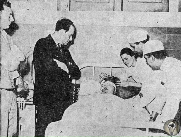 Лев Троцкий при смерти