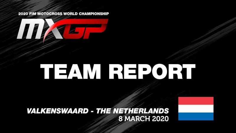 Team Report Diga Procross GasGas Factory Juniors MXGP of The Netherlands 2020 motocross