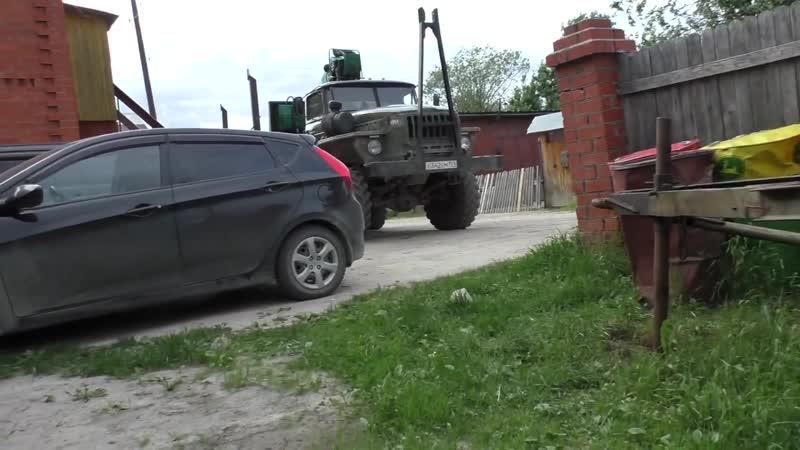 Замена гайки вентиля Урал лесовоз Сварка диска колеса