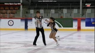 Diana Mukhametzianova - Ilia Mironov Диана Мухаметзянова - Илья Миронов FS Volvo Open Cup 2019
