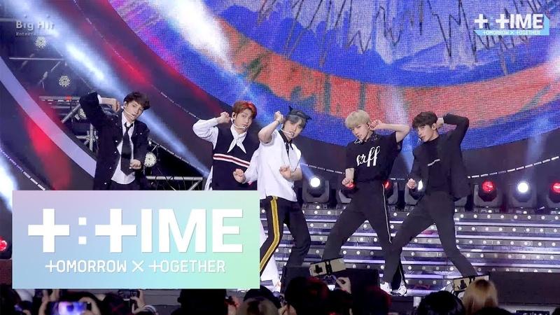 [T:TIME] 'CatDog' stage @SBS Super Concert in Gwangju - TXT (투모로우바이투게더)