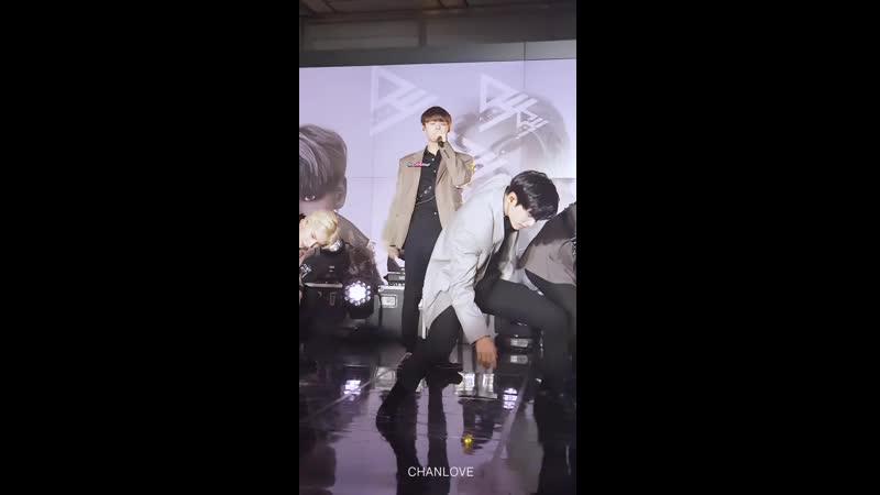 [190903] Super K-pop: Arirang Radio's 16th Anniversary Live Mr. Bass CHAN focus