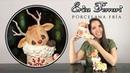 🐶 Erica Ferrari Porcelana Fría | Reno y Bota de Navidad | Clase Gratis | DIY | Tutorial Fácil
