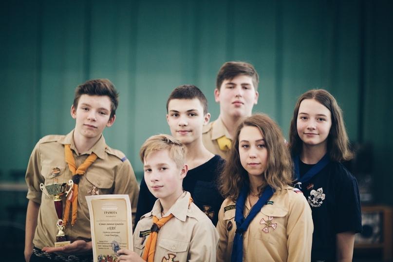Разведчики Санкт-Петербурга приняли участие в КВН и  первом Молодежном кинофестивале непрофессиональных короткометражных фильмов «Плёнка»