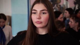 Марьяна Наумова в школе №30 г. Горловка ДНР