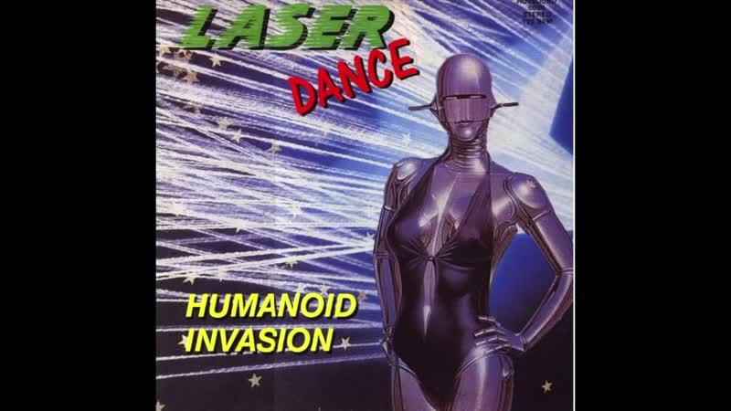 Laserdance - Humanoid Invasion, Cover by Chris van Buren