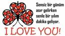 Sensiz Bir Günüm Asır Gelirken Senle Bir Yılım Dakika Geliyor Sevgi Sözleri