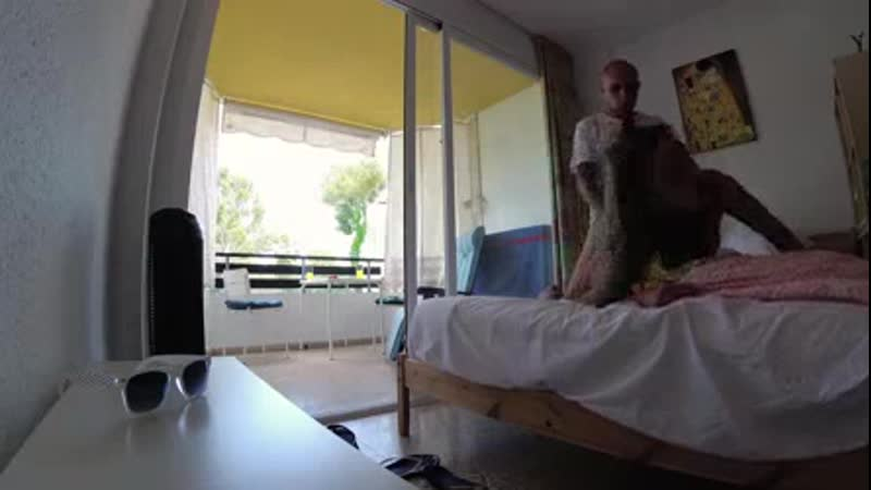 Russian girl Sasha Bikeyeva fucks hard in a hotel room Mallorca in doggy style, intensively ends with squirt and gets a lot of h