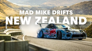 Mad Mike drifting Crown Range in New Zealand (2013)