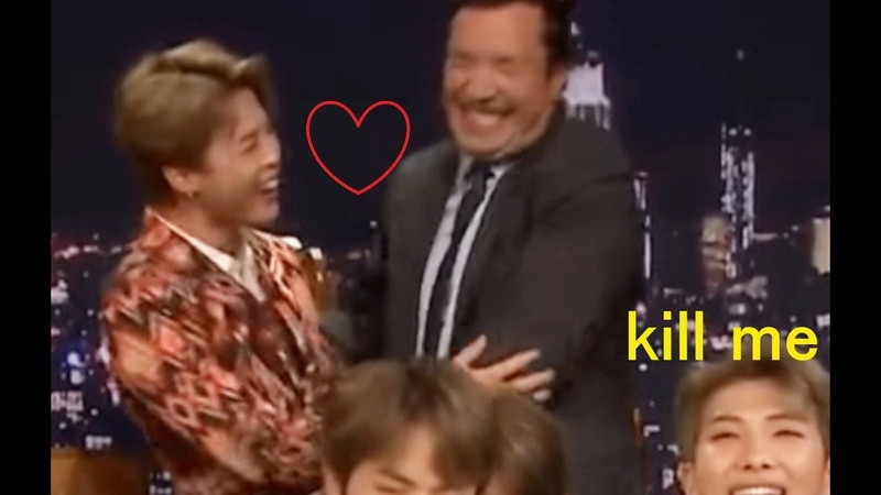 HEY JIMMY IM JIMIN BTS on Jimmy Fallon moment