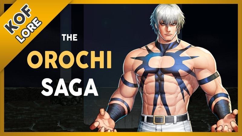 The Orochi Saga Explained KOF Lore