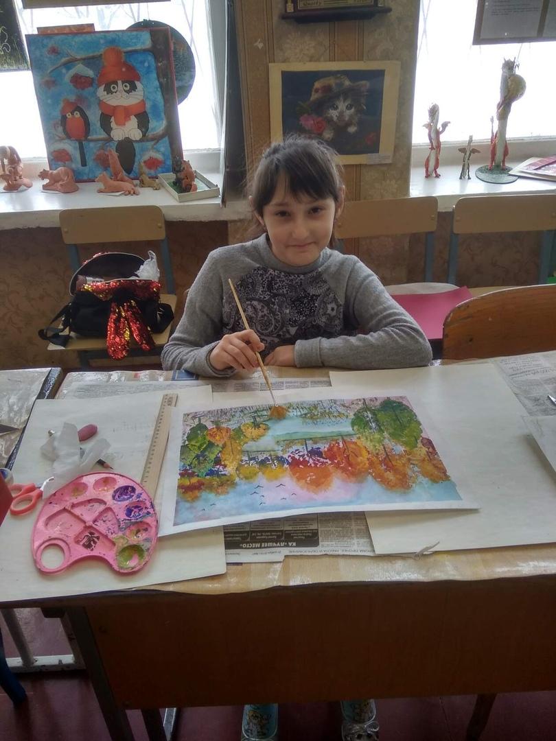 Поздравляем победителей и участников Республиканской выставки- конкурса детского творчества «Люблю тебя, мой край родной»