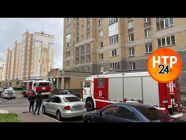 В Нижнекамске пожарные приехали на вызов из за подгоревшей еды