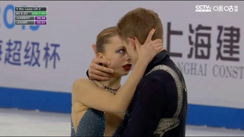 Alexandra Boikova/Dmitrii Kozlovskii, FS, Shanghai Trophy - 2019