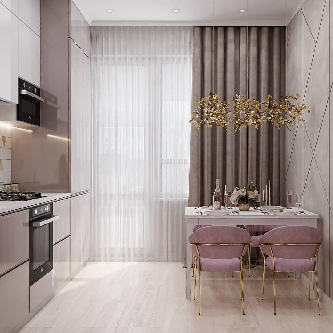 Дизайн-проект милой кухни