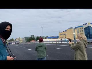 Открытие развязки на пересечении улиц 30 лет Победы и Мельникайте в Тюмени