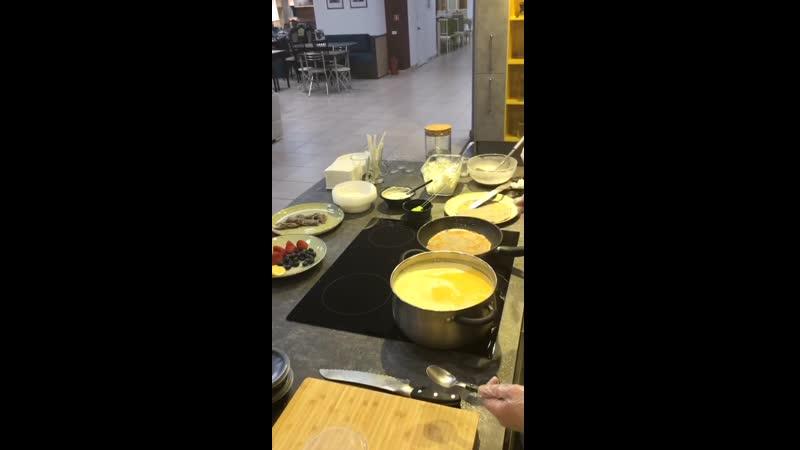 Мастер-класс по правильному питанию в студии кухонь Lazurit