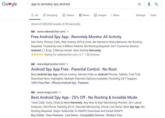 Google удалил почти 1000 оскорбительных приложений для слежки. Но некоторые возвращаются снова, изображение №5