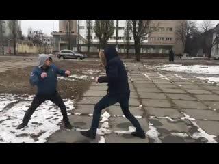 Драка 1 на 1. Как избежать и как драться в уличной драке