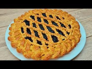 Perfekter Shortbread Kuchen mit Marmelade!