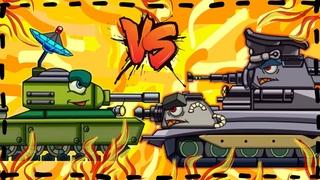 Game xe tăng hoạt hình -Trận chiến của Đấu sĩ Dora | Phim hoạt hình về xe tăng