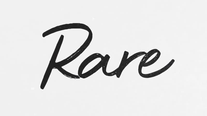 «Can't believe I'm revealing the art and title for my new album RARE, out January 10th. It's the most honest music I've ever...»