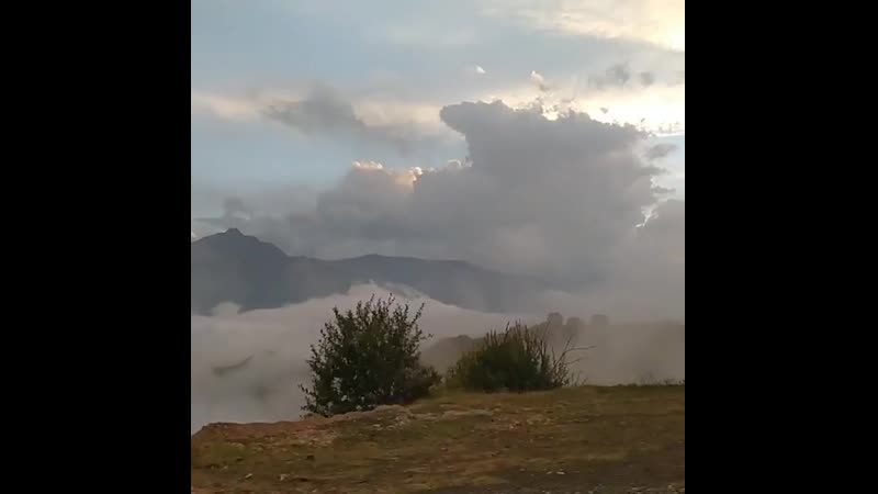 Джейрах Закат после дождя