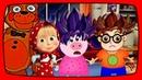 МАША И МЕДВЕДЬ Фредди помогли Пеппе с прической Мультики для детей