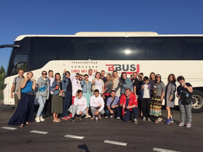Добровольцы кинокомпании «Союз Маринс Групп» отправились в паломнический тур по маршруту Смоленск-Болдино-Вязьма