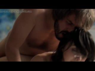 Hot Brunette Sex Scene in a Movie