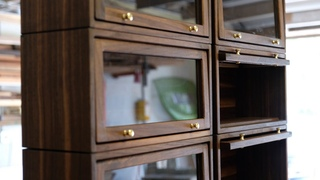 Making a Miniature Barrister Bookcase