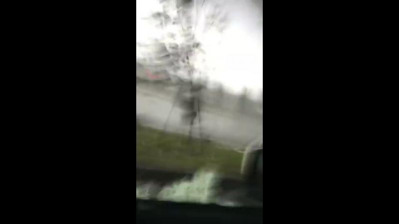 Inside the Gatineau Quebec tornado courtesy of Kasandra Parker