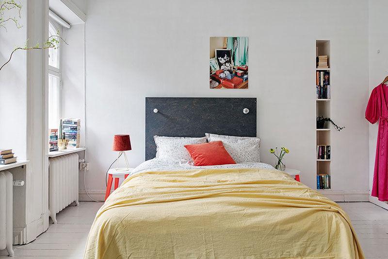 Жизнерадостный дизайн для скандинавской квартиры || 01