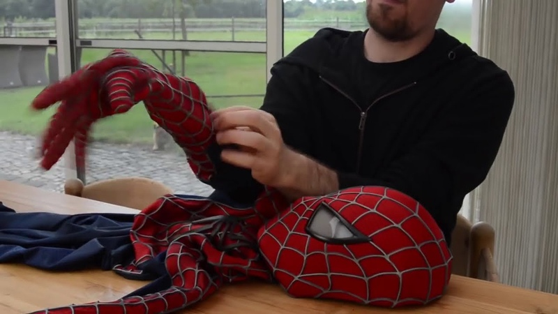 Оригинальный костюм Человека-Паука. Spider Man Costume Replica