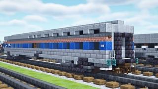 Minecraft Amtrak Viewliner I Sleeping Car Tutorial