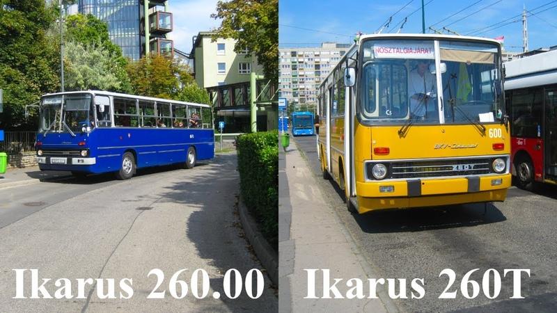 Ikarus nosztalgiajárművek Budapesten 260.00 260T N89 N7680