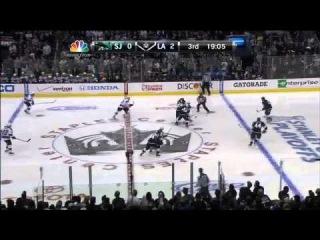 Slava Voynov wrister goal 2-0 May 23 2013 SJ Sharks vs LA Kings NHL Hockey