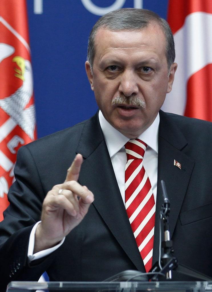 Высказывания президента Турции Реджепа Тайип Эрдогана на заседании парламентской...