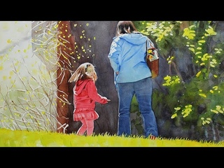 How to Use Masking Fluid to Preserve White Spaces in Watercolor - Full version